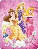 Northwest Disney Princesses Fleece Throw