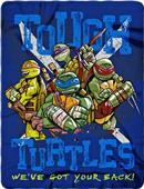 Northwest Nickeloden Tough Turtle Fleece Throw