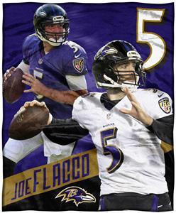 Northwest NFL Joe Flacco HD Silk Touch Throw
