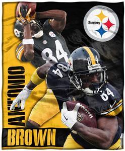 Northwest NFL Antonio Brown HD Silk Touch Throw