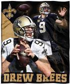 Northwest NFL Drew Brees HD Silk Touch Throw