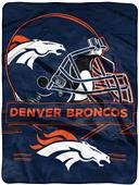 Northwest NFL Broncos Prestige Raschel Throw