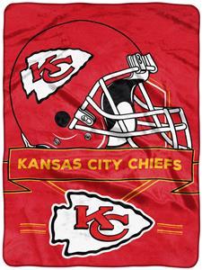 Northwest NFL Chiefs Prestige Raschel Throw