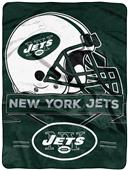 Northwest NFL Jets Prestige Raschel Throw