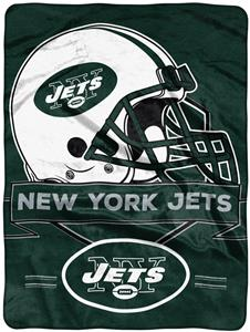 Northwest NFL Jets Prestige Raschel Throw