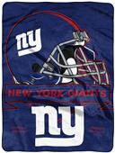 Northwest NFL NY Giants Prestige Raschel Throw