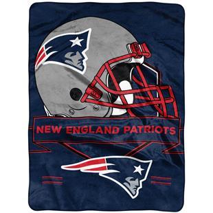 Northwest NFL Patriots Prestige Raschel Throw