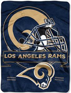 Northwest NFL Rams Prestige Raschel Throw