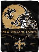 Northwest NFL Saints Prestige Raschel Throw