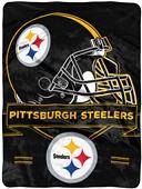 Northwest NFL Steelers Prestige Raschel Throw