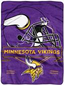 Northwest NFL Vikings Prestige Raschel Throw