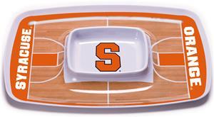 BSI Collegiate Syracuse Orange Chip & Dip Tray