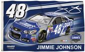 BSI NASCAR Jimmie Johnson #48 2-Sided 3' x 5' Flag