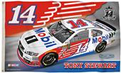 BSI NASCAR Tony Stewart #14 2-Sided 3' x 5' Flag