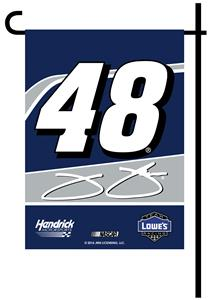 BSI NASCAR Jimmie Johnson #48 2-Sided Garden Flag