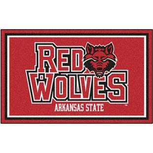 Fan Mats NCAA Arkansas State University 4'x6' Rug