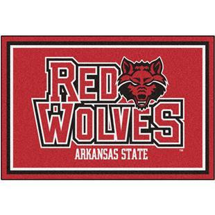 Fan Mats NCAA Arkansas State University 5'x8' Rug