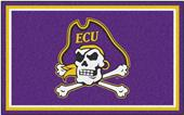 Fan Mats NCAA East Carolina University 4'x6' Rug