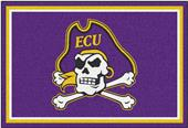 Fan Mats NCAA East Carolina University 5'x8' Rug
