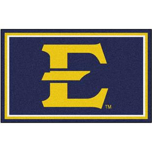 Fan Mats NCAA East Tennessee State 4'x6' Rug
