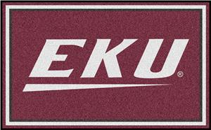 Fan Mats NCAA Eastern Kentucky 4'x6' Rug