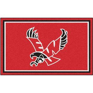 Fan Mats NCAA Eastern Washington 4'x6' Rug