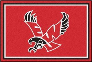 Fan Mats NCAA Eastern Washington 5'x8' Rug