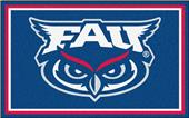 Fan Mats NCAA Florida Atlantic 4'x6' Rug
