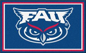 Fan Mats NCAA Florida Atlantic 4'x6' Rug