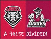 Fan Mats New Mexico/Mexico State House Divided Mat