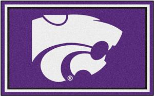 Fan Mats NCAA Kansas State University 4'x6' Rug