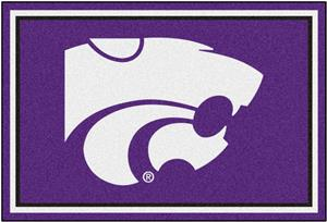 Fan Mats NCAA Kansas State University 5'x8' Rug