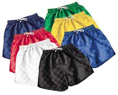 High Five Checkerboard Soccer Shorts - Closeout