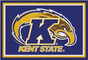 Fan Mats NCAA Kent State University 5'x8' Rug