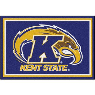Fan Mats NCAA Kent State University 5'x8' Rug