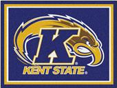 Fan Mats NCAA Kent State University 8'x10' Rug