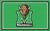 Fan Mats NCAA Marshall University 4'x6' Rug