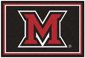 Fan Mats NCAA Miami University (OH) 5'x8' Rug