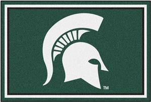 Fan Mats NCAA Michigan State University 5'x8' Rug