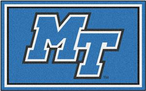 Fan Mats NCAA Middle Tennessee State 4'x6' Rug
