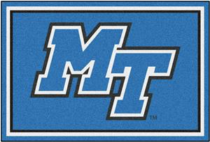 Fan Mats NCAA Middle Tennessee State 5'x8' Rug