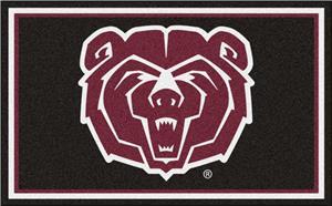 Fan Mats NCAA Missouri State 4'x6' Rug