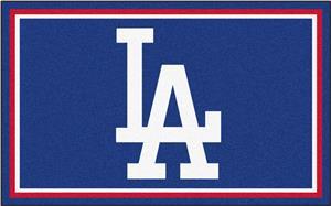 Fan Mats MLB Los Angeles Dodgers 4'x6' Rug