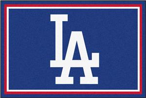 Fan Mats MLB Los Angeles Dodgers 5'x8' Rug