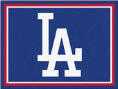 Fan Mats MLB Los Angeles Dodgers 8'x10' Rug