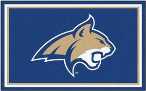 Fan Mats NCAA Montana State University 4'x6' Rug