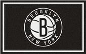 Fan Mats NBA Brooklyn Nets 4'x6' Rug
