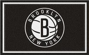 Fan Mats NBA Brooklyn Nets 4'x6' Rug