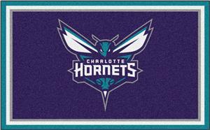 Fan Mats NBA Charlotte Hornets 4'x6' Rug