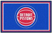Fan Mats NBA Detroit Pistons 4'x6' Rug